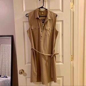 NWT Eddie Bauer Departure Collection Shirt Dress